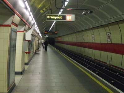 Westbound Platform Looking East