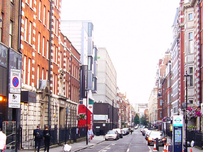 Bolsover Street Looking South