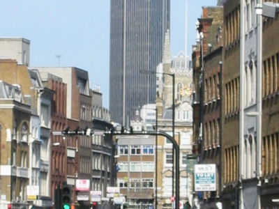 Borough High Street With Tower 42