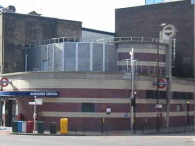 Borough Tube Station Opposite The Long Lane