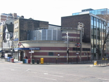 Borough Tube Station At The Southeast End