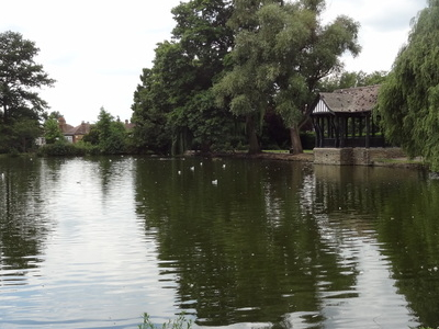 One Of The Broomfield Park Lakes