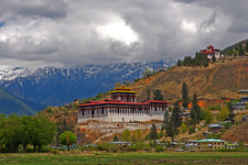 Cloud Hidden Whereabouts Unknown Paro Bhutan