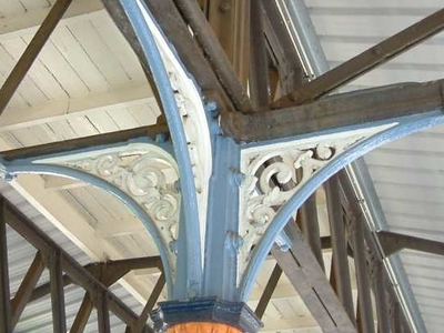 Details Of Roof Support Columns