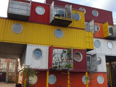 Container City 2 At Trinity Buoy Wharf