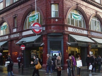 Covent Garden Tube Station Building