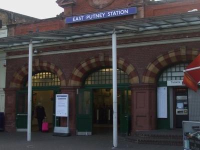 East Putney Tube Station Entrance