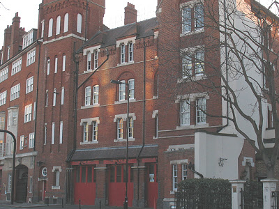 Fire Station On Southwark Bridge Road