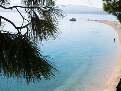 Eastern Bank Of The Zlatni Rat