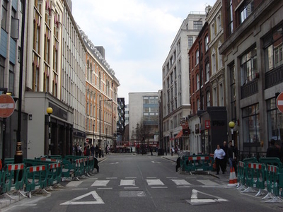 Great Titchfield Street Businesses And Showrooms
