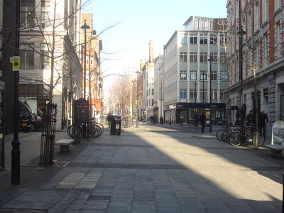 Great Titchfield Street At Its Southern End