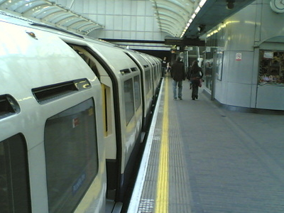 A Westbound Piccadilly Line Train
