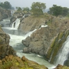 Hogenakkal Falls In A Breezy Weather.