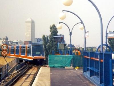 Island Gardens Station