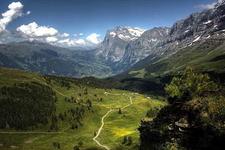 Kleine Scheidegg Hiking Tra