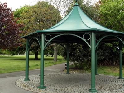 Pavilion In Park
