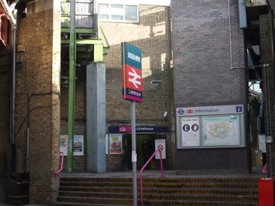 Limehouse Station Entrance