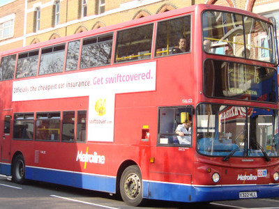 A Number 16 Bus