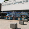 Market Stalls In The Blue