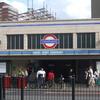 Mile End Tube Station Entrance