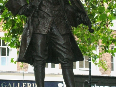 Bronze Statue Of Mozart