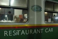 Nairobi Mombasa Train Restaurant Car