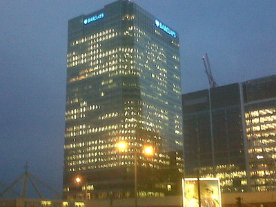 One Churchill Place At Night