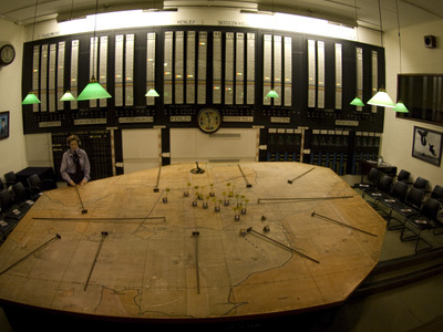 The No.11 Group Operations Room