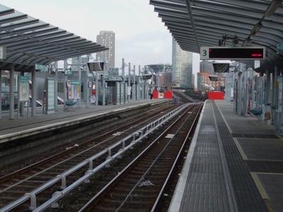 Eastbound View (Platform 3)