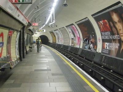 Westbound Platform
