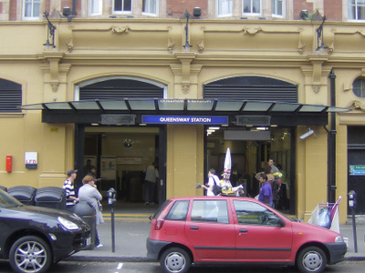 Queensway Tube Station