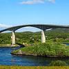 The Saltstraum Bridge Viewed
