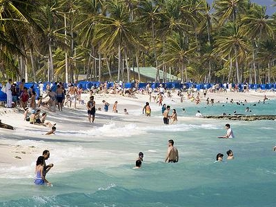 Beach In San Andres