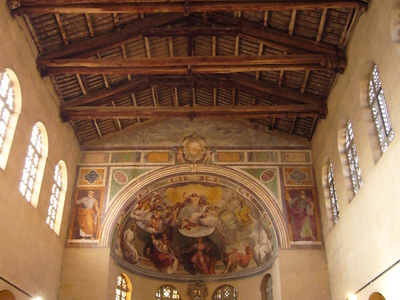 Santa Balbina Interior