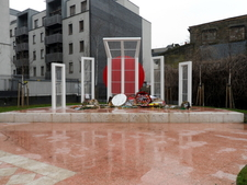 Replica Of The Shaheed Minar Monument