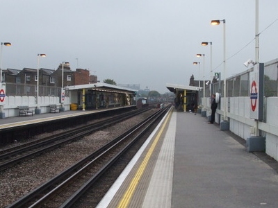 Looking South Along The Platforms