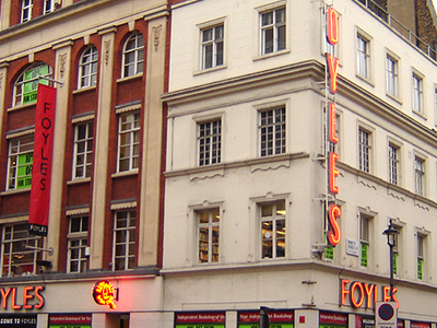 The Venerable Foyles Bookshop