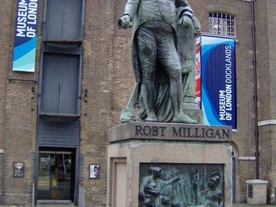 Standbeeld Robert Milligan