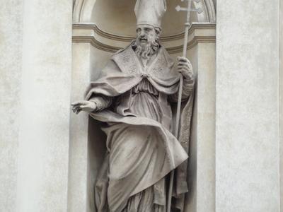 Statue Of Saint Claudius Of Besançon