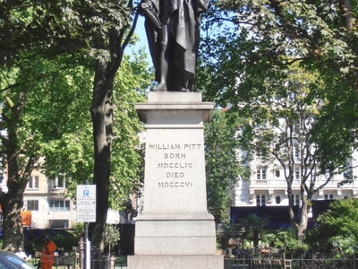 Statue Of William Pitt The Younger