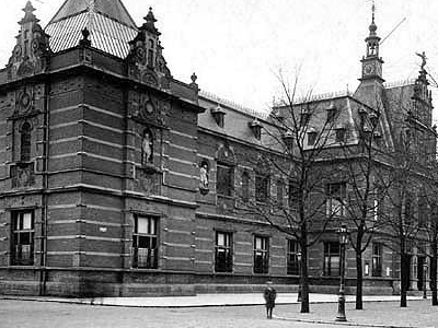 The Old Building Of The Stedelijk Museum