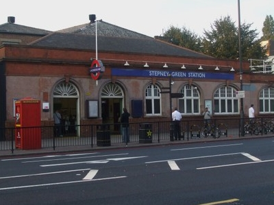 Stepney Green Tube Station Building