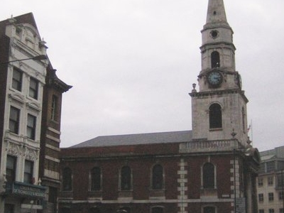 St George The Martyr Church Opposite The Marshalsea Road