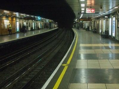 Platforms Looking Clockwise/Westbound