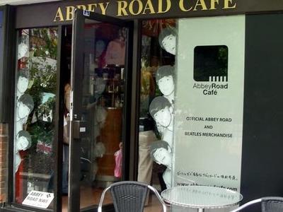 Abbey Road Cafe Outside Tube Stop