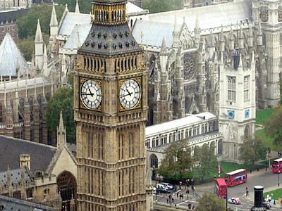 St Margaret's Seen From The London Eye