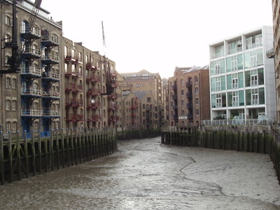 St Saviour's Dock (View South To Dock End)