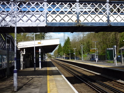 Sydenham Hill Railway Station Platforms
