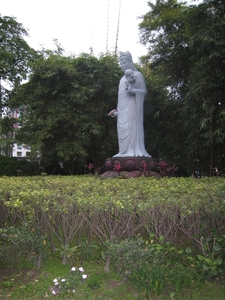 The Formerly Controversial Daan Forest Park Guanyin Statue