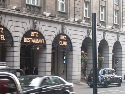 The Ritz Hotel Is Opposite Dover Street
